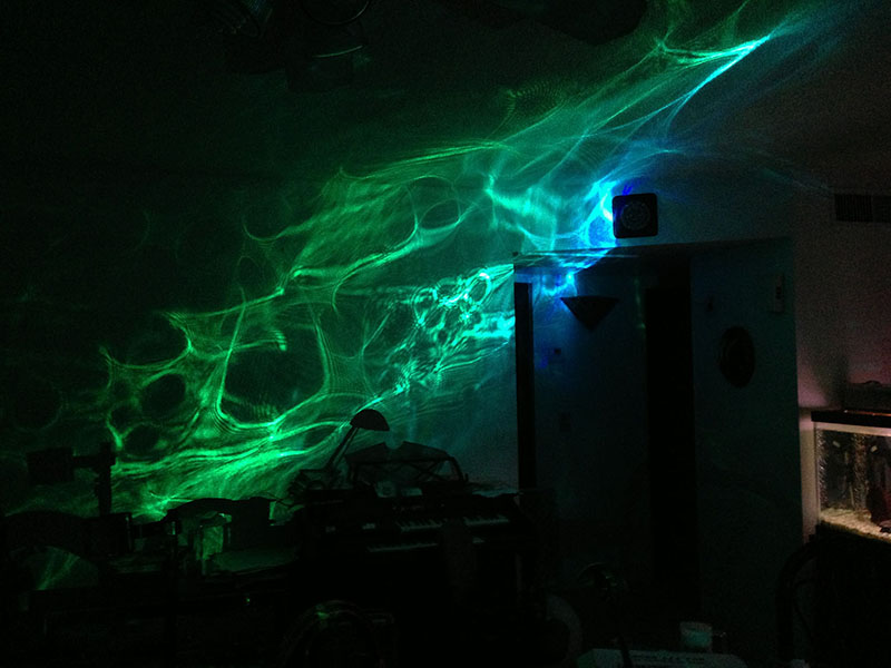 experimental lumia effects | Laser Pointers